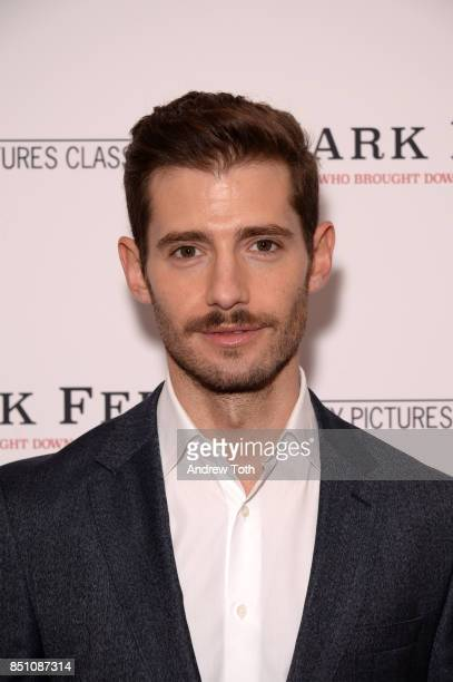 Julian Morris attends 'Mark Felt The Man Who Brought Down The White House' New York premiere at the Whitby Hotel on September 21 2017 in New York City