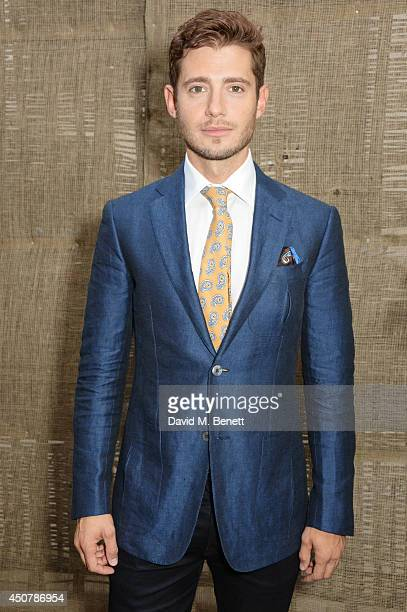 Julian Morris attends the GQ Style Party at Dunhill on June 17 2014 in London England