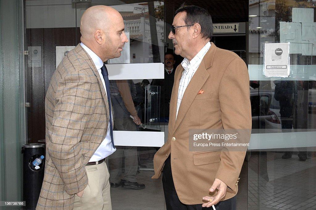 Julian Munoz Attends Trial in Marbella