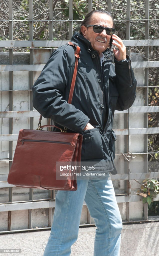 Celebrities Sighting In Madrid - May 05, 2017