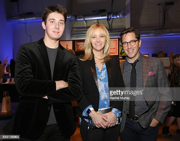 Julian Murray Stern actors Lisa Kudrow and Dan Bucatinsky attend the pARTy celebrating 25 years of PS ARTS on May 20 2016 in Los Angeles California