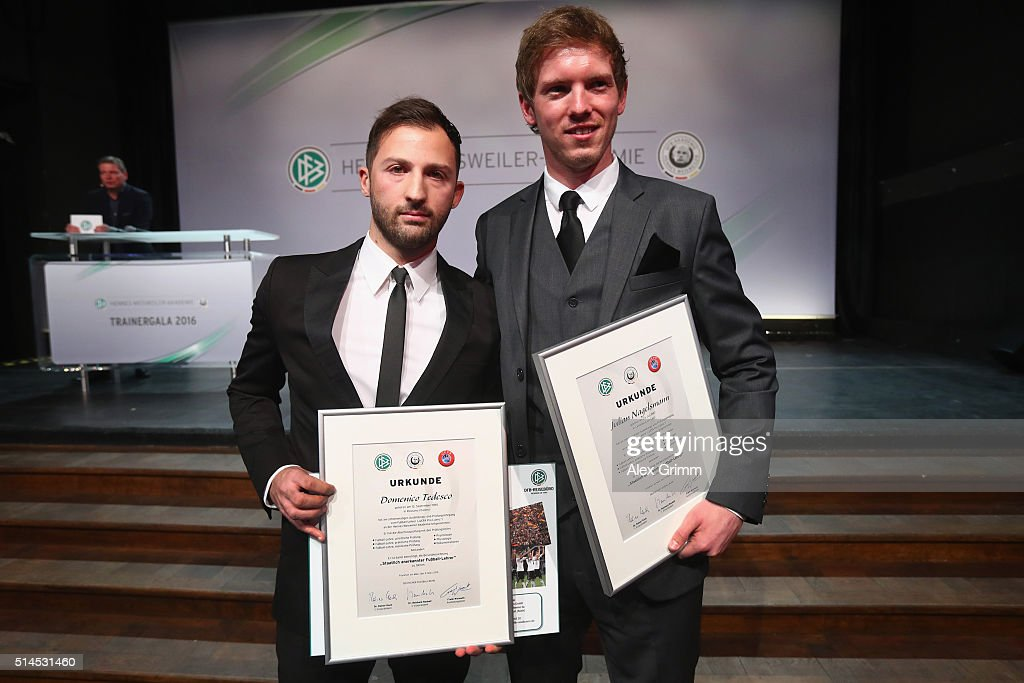Coaching Award Ceremony & Closing Event UEFA Pro Coaching Course 2015/2016 : News Photo