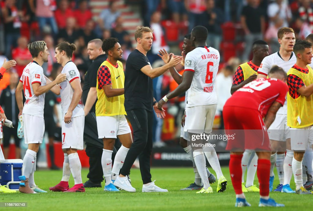 1. FC Union Berlin v RB Leipzig - Bundesliga : News Photo
