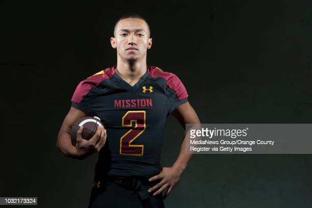 Julian Owens Mission Viejo The 2014 Orange County Register AllCounty Football Team ///ADDITIONAL INFO achsfootball1227kjs Photo by KEVIN SULLIVAN /...