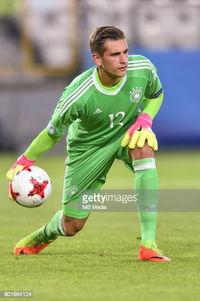 Julian Pollersbeck during the UEFA European Under21 match between Italy and Germany on June 24 2017 in Krakow Poland