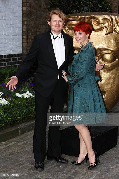 Julian RhindTutt and Guest attend the BAFTA Craft Awards at The Brewery on April 28 2013 in London England