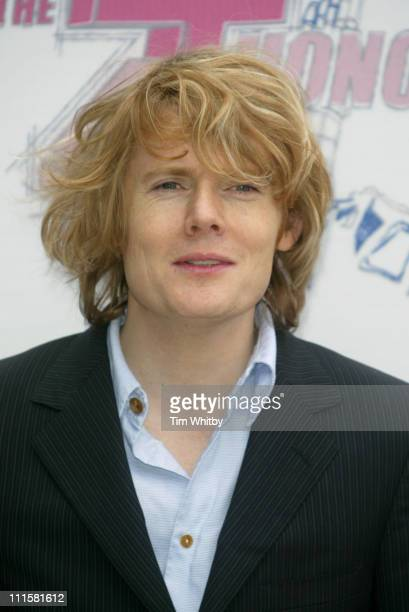 Julian RhindTutt during The 2005 T4 Honours Arrivals at Channel 4 Tv Studios in London Great Britain