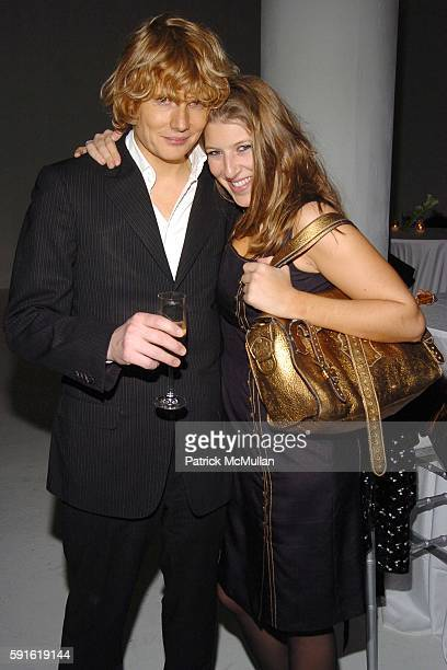 Julian RhindTutt Tara Summers and attend MULBERRY AfterShow Party for GYPSY OF CHELSEA to benefit ACTION ON ADDICTION at Boylan Studios on December...