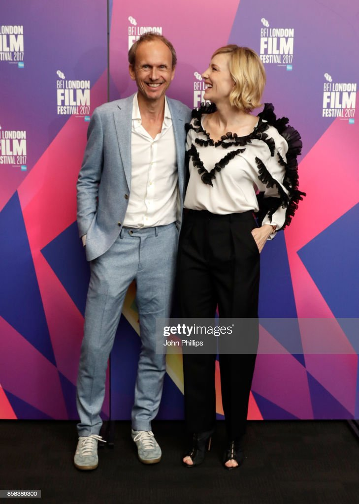 Julian Rosefeldt and Cate Blanchett attend LFF Connects at the 61st BFI London Film Festival on October 6, 2017 in London, England.
