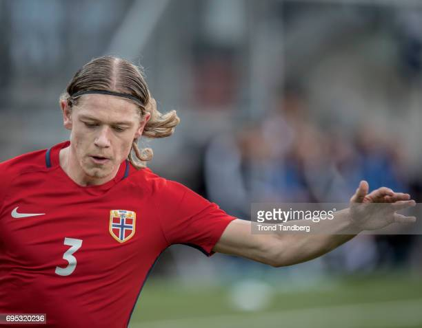 Julian Ryerson of Norway during the Qualifying Round European Under 21 Championship 2019 between Norway v Kosovo at Ullevaal Stadion on June 12 2017...