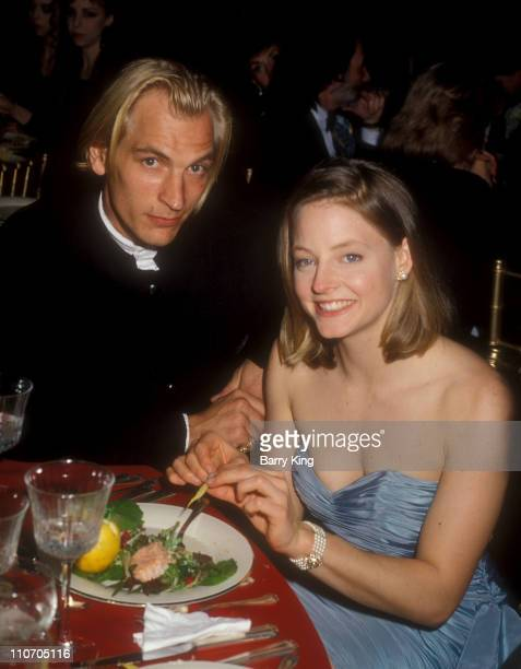Julian Sands and Jodie Foster during 61st Annual Academy Awards - Governor's Ball at Shrine Auditorium in Los Angeles, California, United States.
