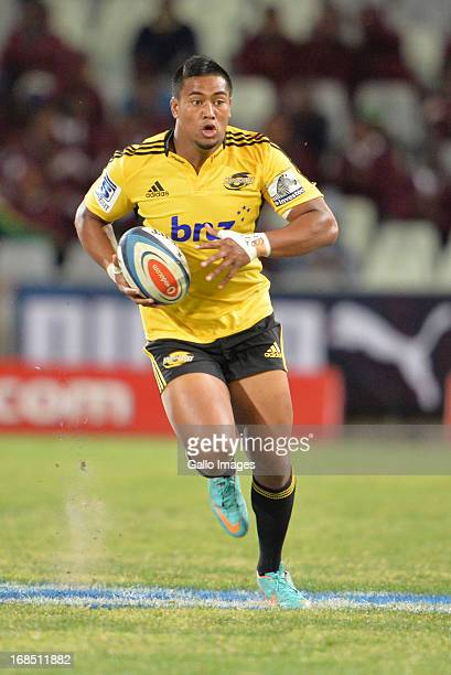 Julian Savea during the Super Rugby match between Toyota Cheetahs and Hurricanes at Free State Stadium on May 10 2013 in Bloemfontein South Africa