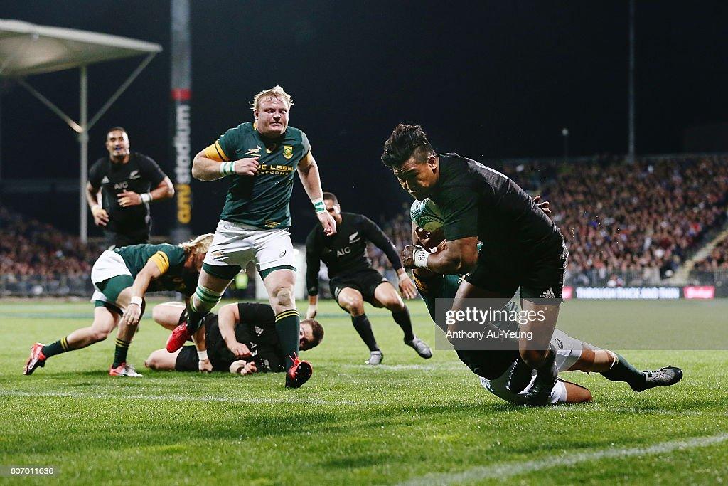 New Zealand v South Africa : News Photo