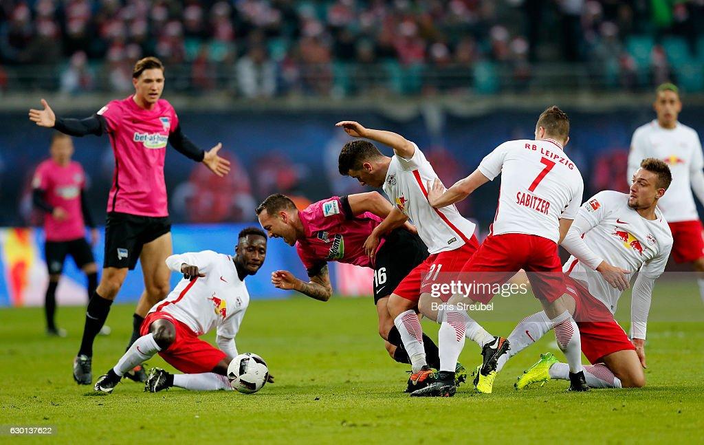 RB Leipzig v Hertha BSC - Bundesliga : News Photo