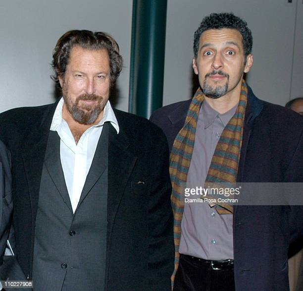 Julian Schnabel and John Turturro during The Film Society of Lincoln Center's Walter Reade Theater Presents Inventing Christopher Walken at Walter...