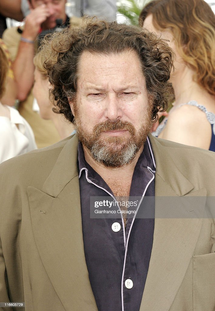 Julian Schnabel during 2007 Cannes Film Festival - Le Scaphandre et le Papillon (The Diving Bell and the Butterfly) Photocall at Palais des Festivals in Cannes, France.