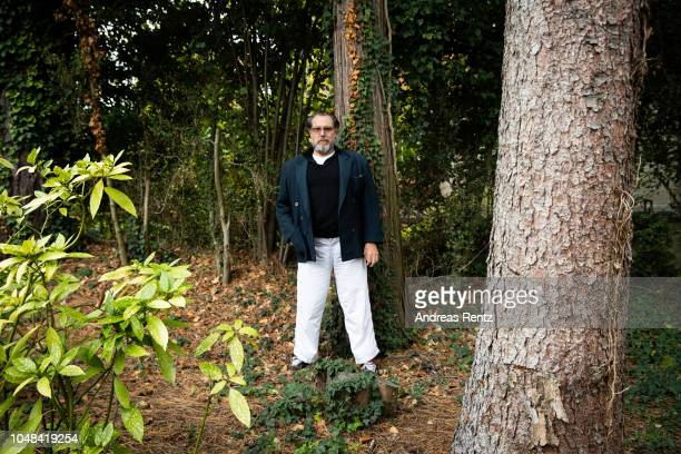 Julian Schnabel poses at a portrait session during the 14th Zurich Film Festival on October 02 2018 in Zurich Switzerland