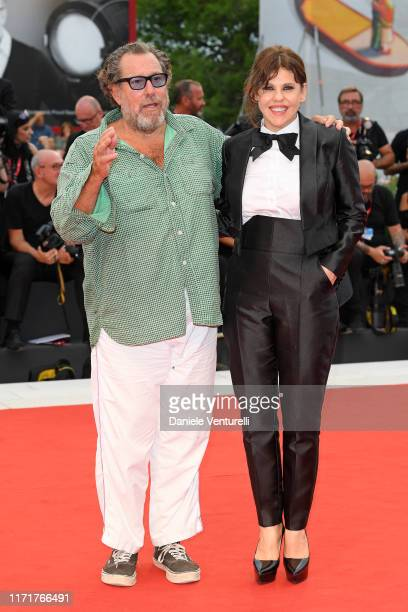 Julian Schnabel walks the red carpet ahead of the Martin Eden screening during the 76th Venice Film Festival at Sala Grande on September 02 2019 in...