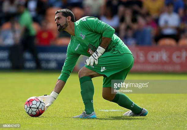 Julian Speroni of Crystal Palace in action during a Pre Season Friendly between Barnet and Crystal Palace at The Hive on July 11 2015 in Barnet...