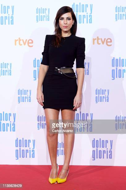 Julian Villagran attends 'Dolor y Gloria' premiere at the Capitol cinema on March 13 2019 in Madrid Spain