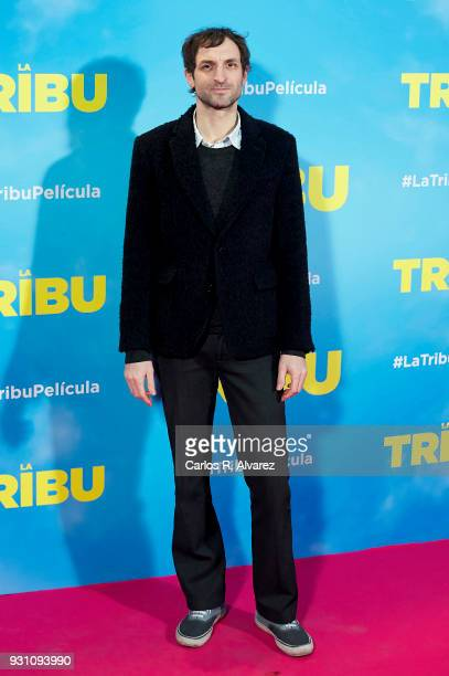 Julian Villagran attends 'La Tribu' premiere at the Capitol cinema on March 12 2018 in Madrid Spain