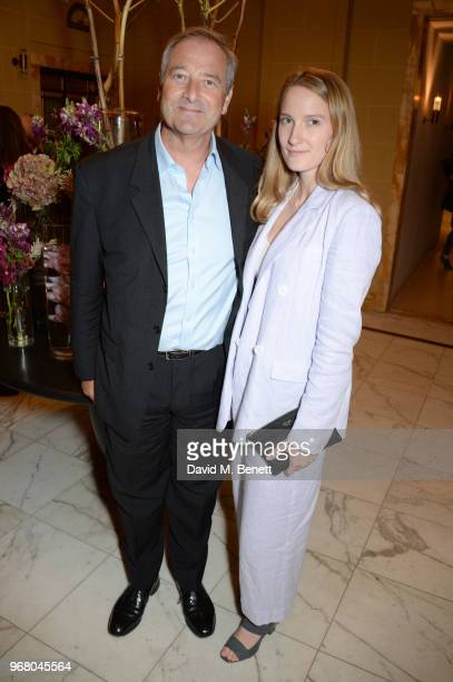 Julian Wadham and guest attend an after party following the UK Premiere of 'The Happy Prince' hosted by Justine Picardie editor of Harper's Bazaar at...