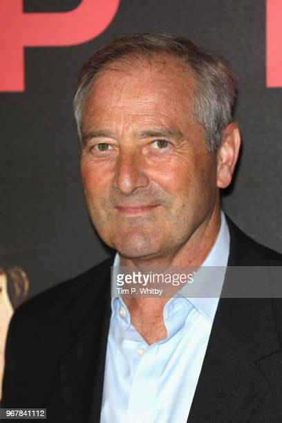 Julian Wadham attends the UK premiere of 'The Happy Prince' at Vue West End on June 5 2018 in London England