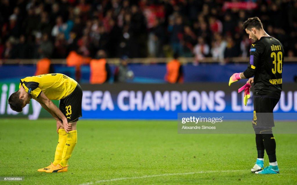AS Monaco v Borussia Dortmund - UEFA Champions League Quarter Final: Second Leg : Nachrichtenfoto
