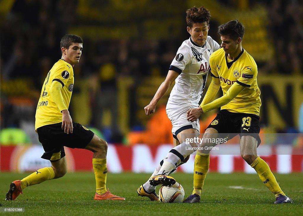 Tottenham Hotspur v Borussia Dortmund - UEFA Europa League Round of 16: Second Leg : News Photo