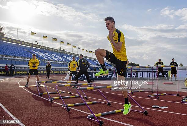 Julian Weigl of Borussia Dortmund during the second day of the training camp at Estadio Municipal de Marbella on January 06 2017 in Marbella Spain
