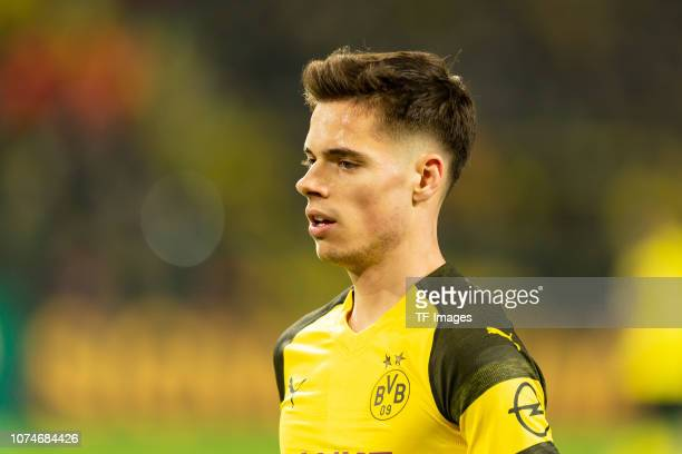 Julian Weigl of Borussia Dortmund looks on during the Bundesliga match between Borussia Dortmund and Borussia Moenchengladbach at Signal Iduna Park...