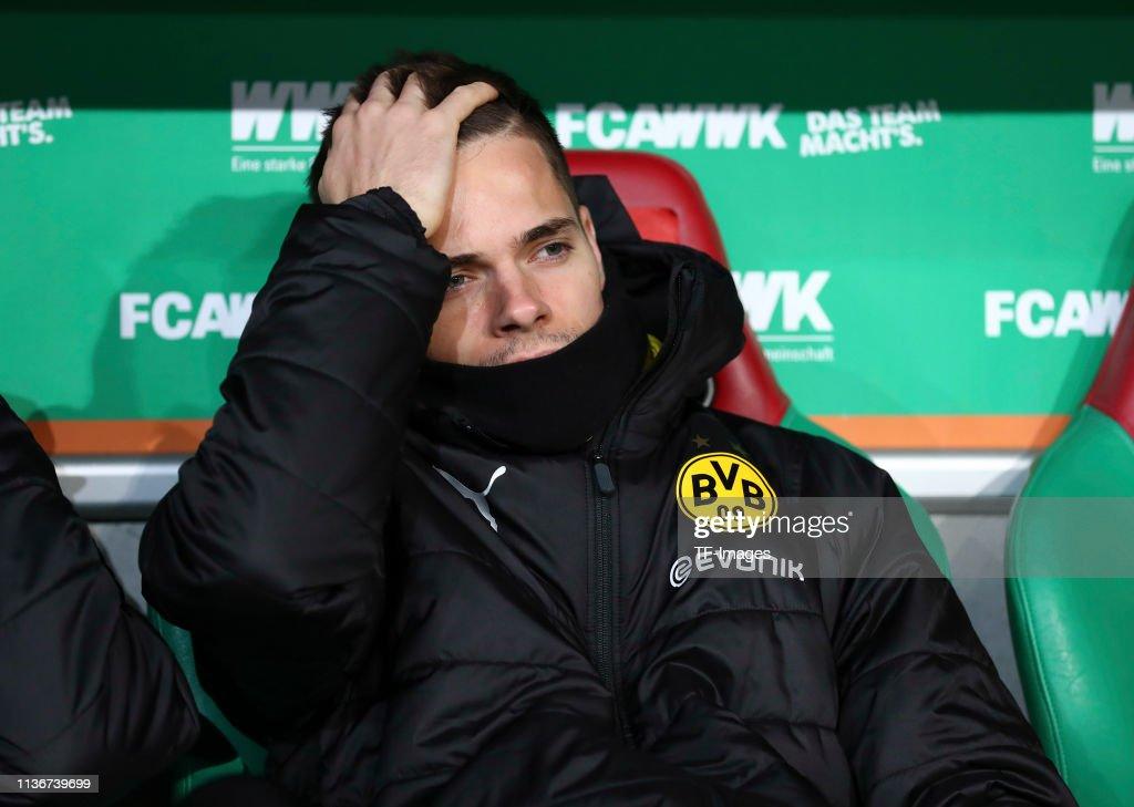 FC Augsburg v Borussia Dortmund - Bundesliga : News Photo