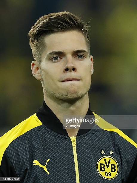 Julian Weigl of Borussia Dortmundduring the UEFA Champions League group F match between Borussia Dortmund and Real Madrid on September 27 2016 at the...