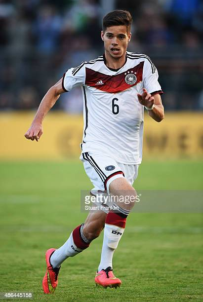 Julian Weigl of Germany in action during the International friendly match between U21 Germany and U21 Denmark at Stadion an der Lohmuehle on...