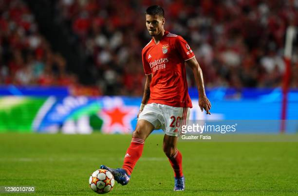 Julian Weigl of SL Benfica in action during the Group E - UEFA Champions League match between SL Benfica and Bayern Munchen at Estadio da Luz on...