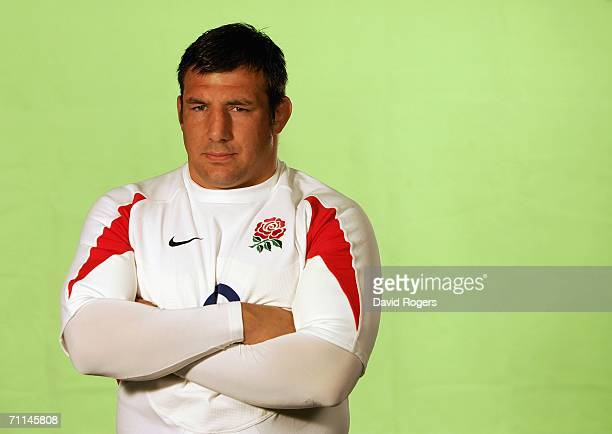 Julian White of England poses during a studio session held on June 7 2006 at The Manly Pacific Hotel ManlySydney Australia