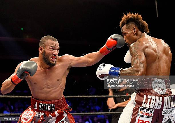 Julian WIlliams during the IBF Junior Middleweight Championship Bout against Jermall Charlo at the Galen Center at the University of Southern...