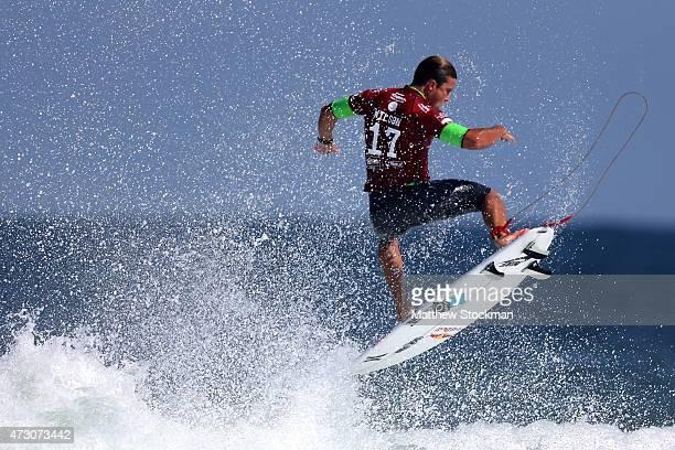 Julian Wilson of Australia surfs during Round 1 Heats at the Oi Rio Pro on May 12 2015 in Rio de Janeiro Brazil