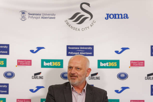GBR: Press Conference with Julian Winter new CEO for Swansea City