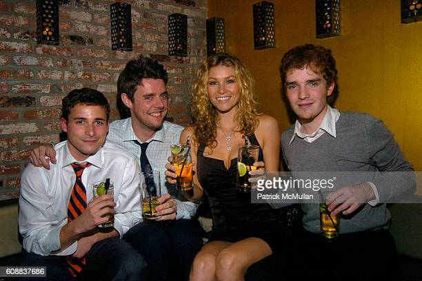 Julian Zounihan James Smith Heather Vandeven and Max Mckenzie attend Drambuie Den Event with Special Guest Heather Vandeven at Level V on October 22...
