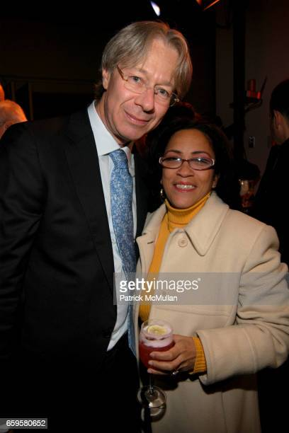 Julian Zugazagoitia and Debbie Quinones attend EL MUSEO DEL BARRIO Inaugural Preview and Reception at El Museo Del Barrio on October 15 2009 in New...