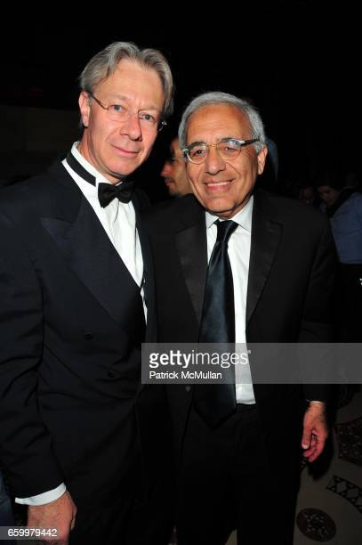Julian Zugazagoitia and Reynold Levy attend El MUSEO Gala at Cipriani 42nd St on May 20 2009 in New York City