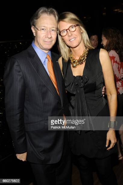 Julian Zugazagoitia and Sarah Gore Reeves attend ENRIQUE NORTEN Private Dinner Celebrating the 25th Anniversary of TEN ARQUITECTOS at The Four...