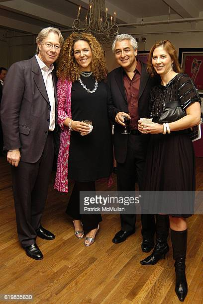 Julian Zugazagoitia Beatriz de la Mora Weisz and Nelson attend El Museo's Young International Circle Celebrates Loteria at The Westside Loft on...