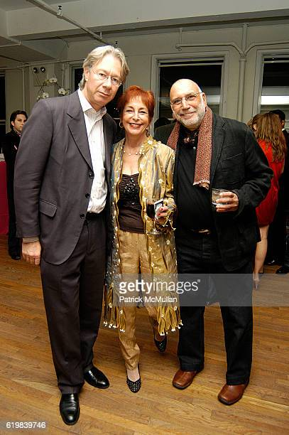 Julian Zugazagoitia Gail Winston and Paco Roden attend El Museo's Young International Circle Celebrates Loteria at The Westside Loft on October 24...