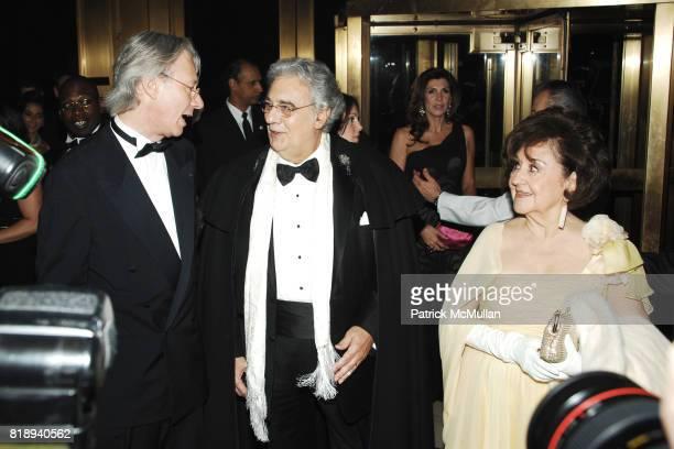 Julian Zugazagoitia Placido Domingo and Marta Ornelas attend EL MUSEO'S 2010 Annual Gala at Cipriani 42nd Street on May 27th 2010 in New York City