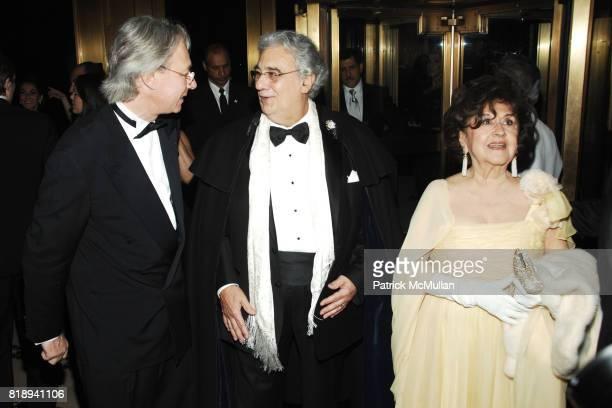 Julian Zugazagoitia, Placido Domingo and Marta Ornelas attend EL MUSEO'S 2010 Annual Gala at Cipriani 42nd Street on May 27th, 2010 in New York City.