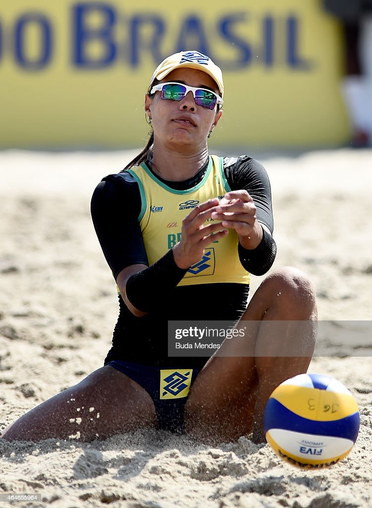Brazil v USA Beach Volleyball International Challenge