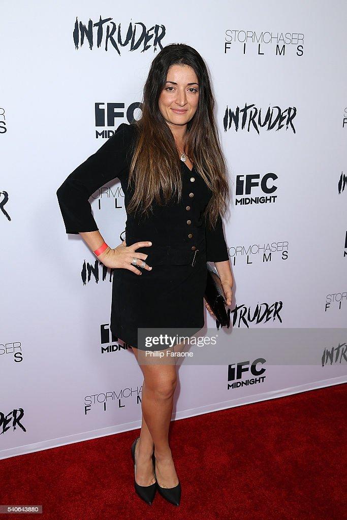 Juliana Gottschalk attends the premiere of IFC Midnight's 'Intruder' at Regency Bruin Theater on June 15, 2016 in Westwood, California.