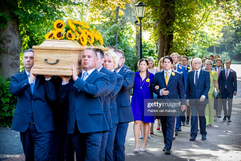Funeral Of Princess Christina Of The Netherlands At Noordeinde Palace In Amsterdam : News Photo